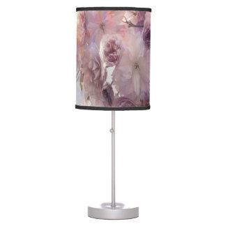 Vintage Beauty Flowers Pink Cherry Blossoms Desk Lamp