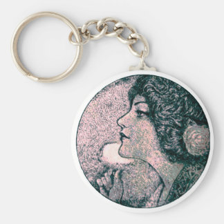 Vintage Beauty Keychain