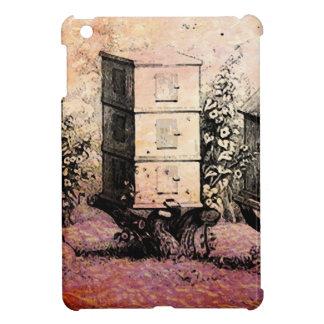 VINTAGE BEE HIVES iPad MINI CASE