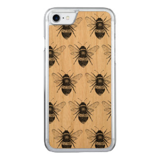 Vintage Bee Wooden Iphone 7 Case