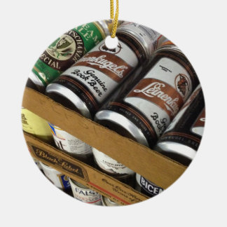 Vintage Beer Can Ornament