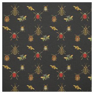 Vintage Beetles Fabric