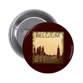 Vintage Belgium 2 Inch Round Button
