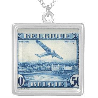 Vintage Belgium Airmail Necklace