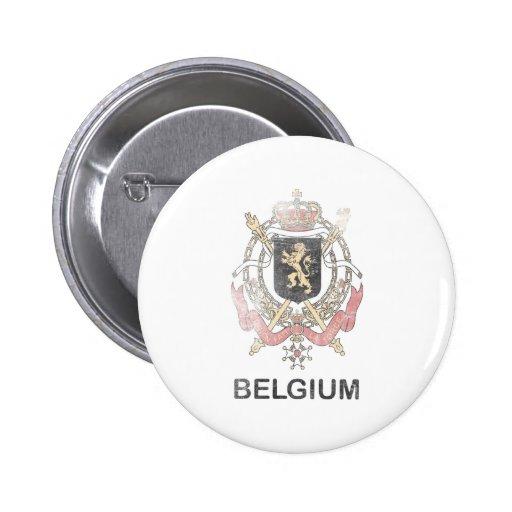 Vintage Belgium Pinback Buttons