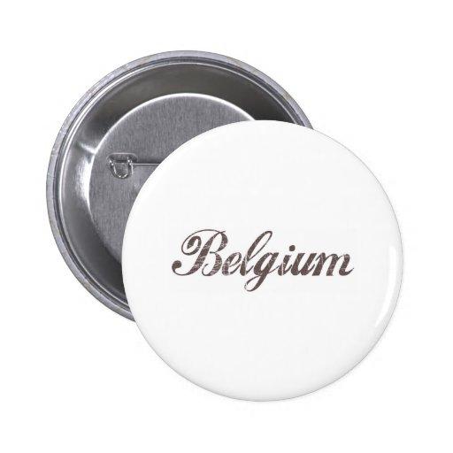 Vintage Belgium Pin