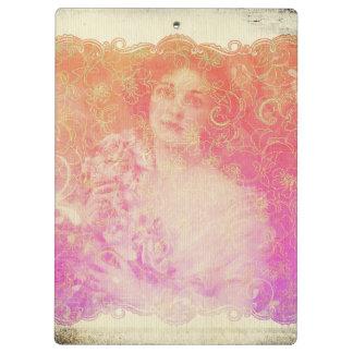 Vintage,belle époque,beautiful lady,victorian,chic clipboard