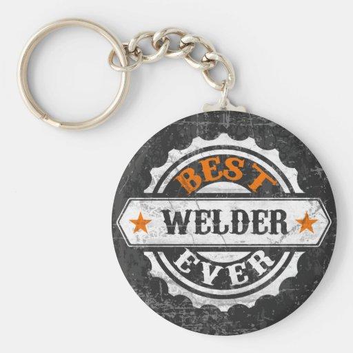 Vintage Best Welder Key Chain