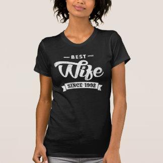 Vintage Best Wife Since 1992 T-Shirt
