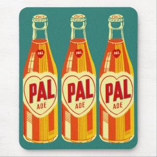 Vintage Beverages Pal Soda Bottle Mouse Pad