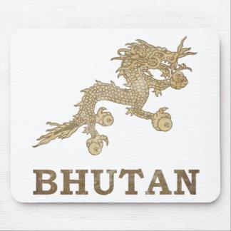 Vintage Bhutan Mouse Pad