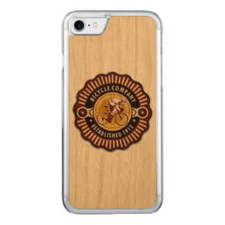 Vintage Bicycle 2-13 Image Options Carved iPhone 8/7 Case