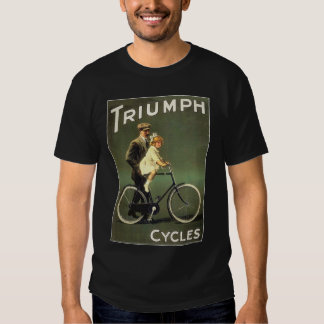 Vintage Bicycle Ad :  Triumph Cycles T-shirts