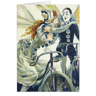 Vintage Bicycle Advertisement - Cycling Card