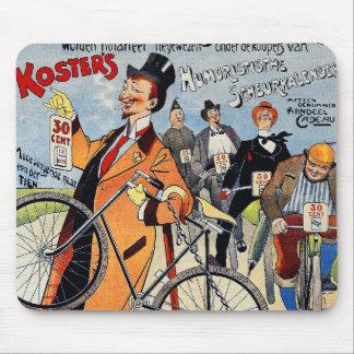Vintage Bicycle Advertising Art Mousepads
