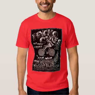 Vintage Bicycle Art: Psycho Cycles T-shirts
