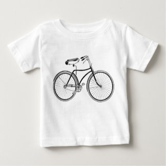 Vintage Bicycle Baby Tee Antique/Retro/Cycling