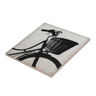 Vintage Bicycle Ceramic Tile