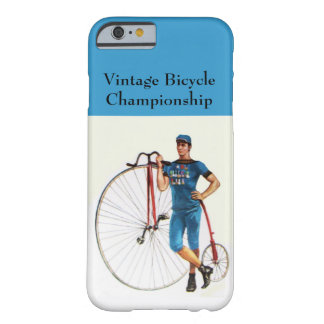 Vintage Bicycle Championship Barely There iPhone 6 Case
