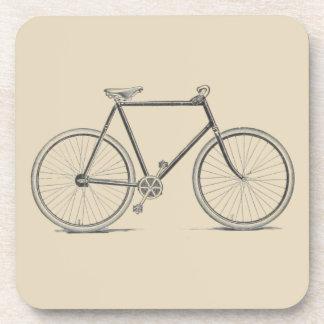 Vintage bicycle cork coasters