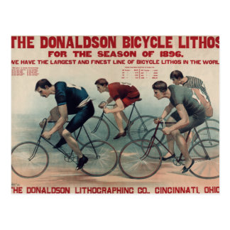 Vintage Bicycle Gift ideas for Cycle fans Postcard