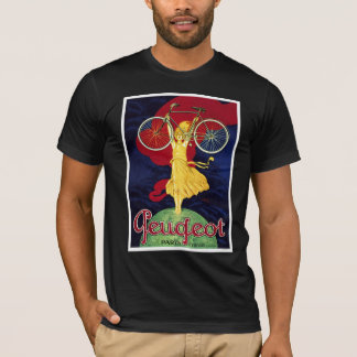 Vintage Bicycle Gifts - Cycles Peugeot T-Shirt
