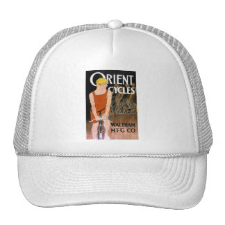 Vintage Bicycle Image -  Orient Cycles Trucker Hat