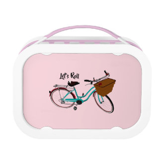 Vintage Bicycle...let's roll. Lunch Box