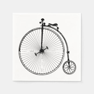 Vintage Bicycle Napkin