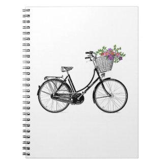 Vintage Bicycle Note Book