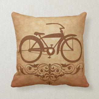Vintage Bicycle Pillow