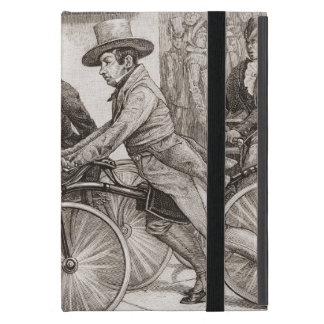 Vintage Bicycle Riders Cover For iPad Mini