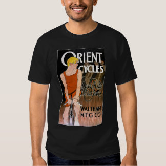 Vintage Bicycle T-Shirt -  Orient Cycles