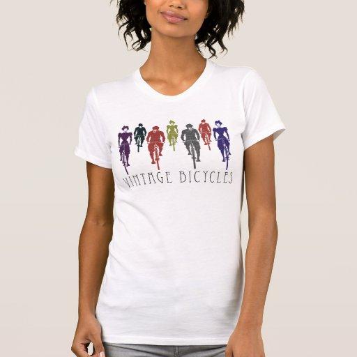Vintage bicycles tshirt
