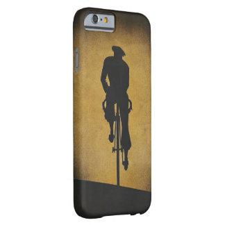 Vintage Bicyclist in Shadow Phone Case