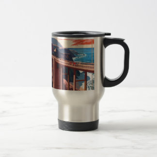Vintage Big Sur Bixby Bridge USA Tourism Travel Mug