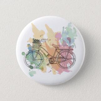 Vintage Bike 2 Inch Round Button