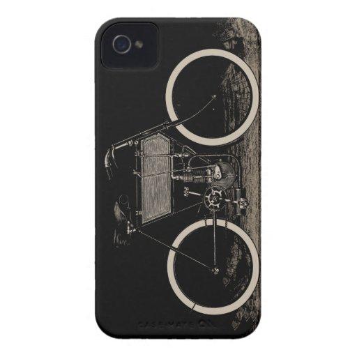 Vintage Bike Motorcycle Blackberry Case