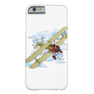 Vintage Biplane Flying Barely There iPhone 6 Case