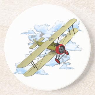 Vintage Biplane Flying Coaster