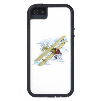 Vintage Biplane Flying iPhone 5 Case