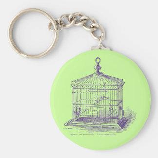 Vintage Bird Cage Keychain