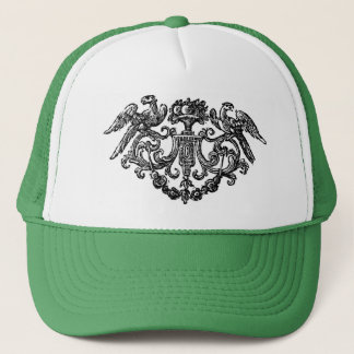 Vintage Bird Illustration Hat