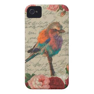 Vintage bird iPhone 4 Case-Mate case