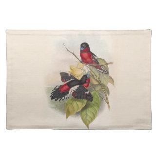 Vintage Birds 002 Placemat
