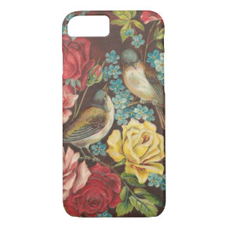 Vintage Birds and Flowers iPhone 8/7 Case