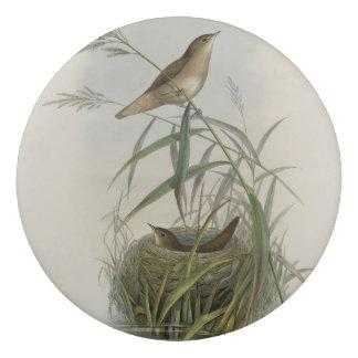 Vintage-birds-with nest eraser