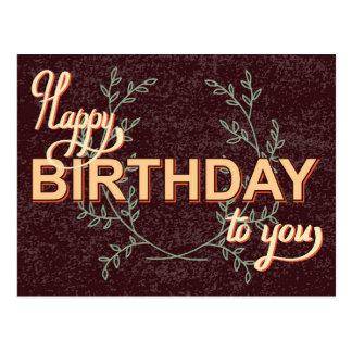 Vintage Birthday Card #3