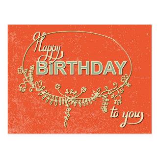 Vintage Birthday Card #4
