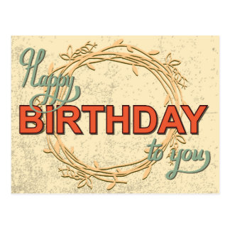 Vintage Birthday Card #5